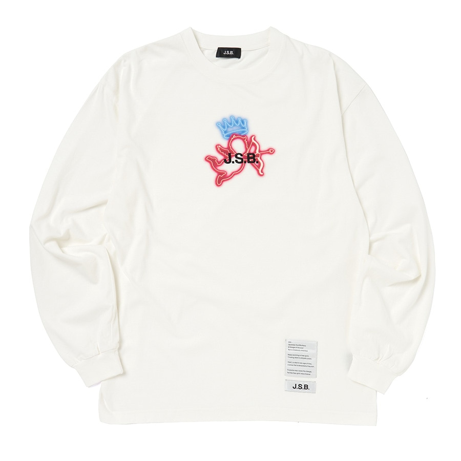Angel Sign L/S Tee 詳細画像 White 1