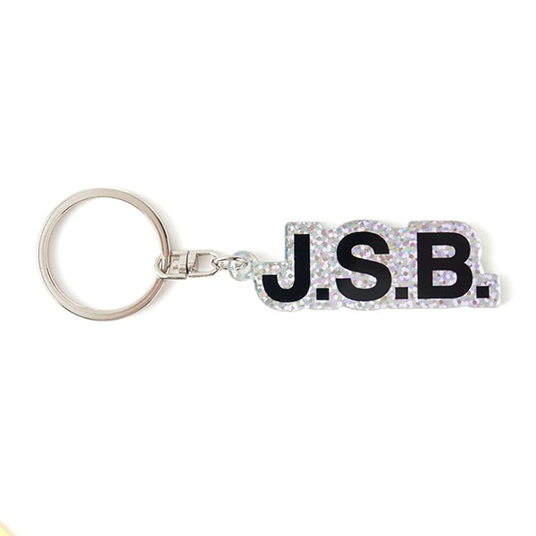 Glitter Logo Key Holder