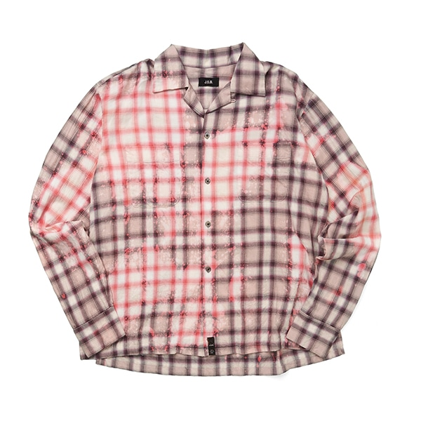 ReMake Open-collared LS Shirt