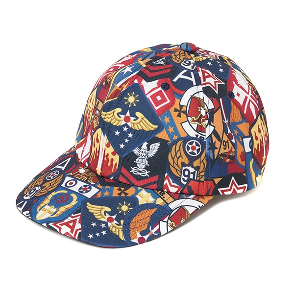 Patch Pattern 6P Cap