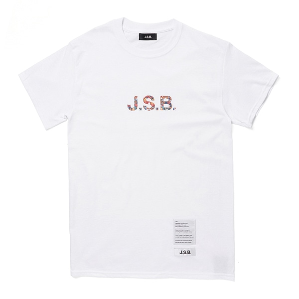 Patch Pattern Logo Tee
