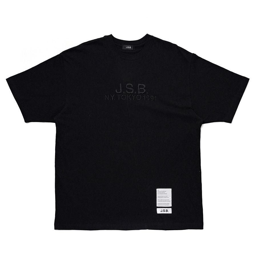 Cutting Logo Tee 詳細画像 Black 1