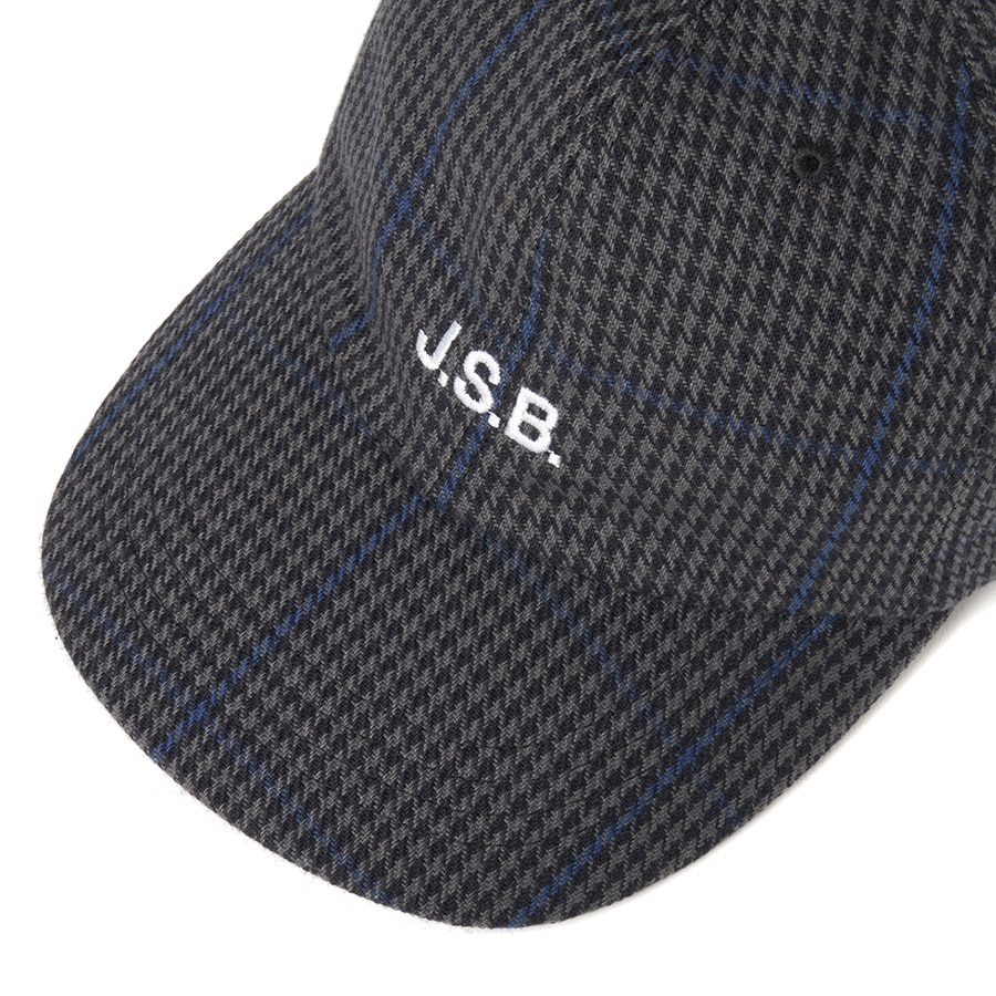 Wool Check Logo Cap 詳細画像 Beige 2