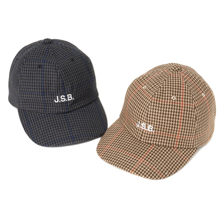 Wool Check Logo Cap 詳細画像 Beige 6