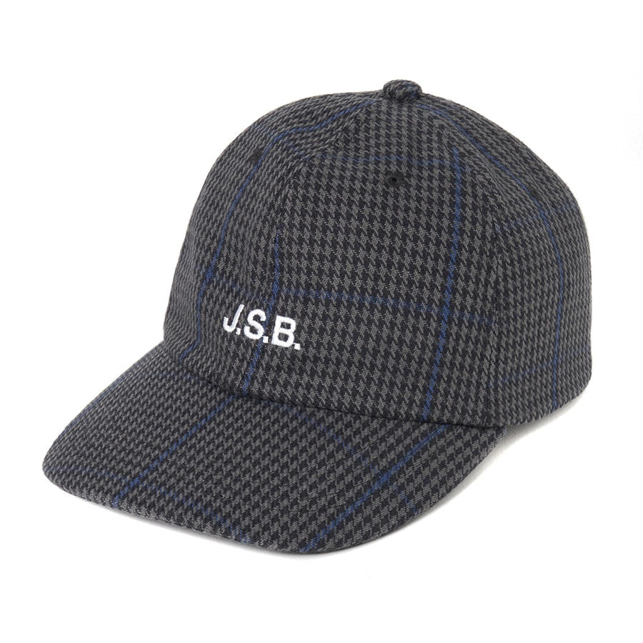 Wool Check Logo Cap 詳細画像 Black 1