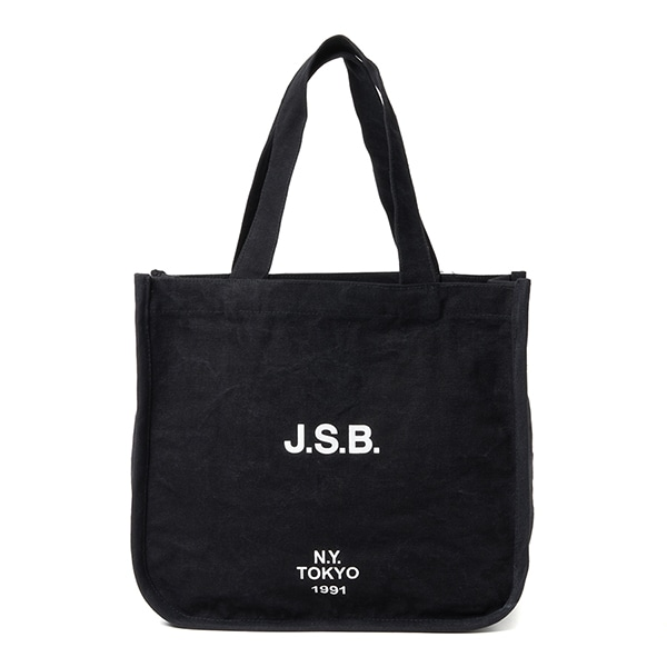 Logo Wash Canvas Tote Bag