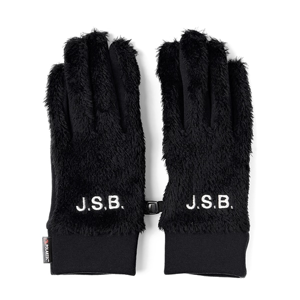 Logo Fur Glove