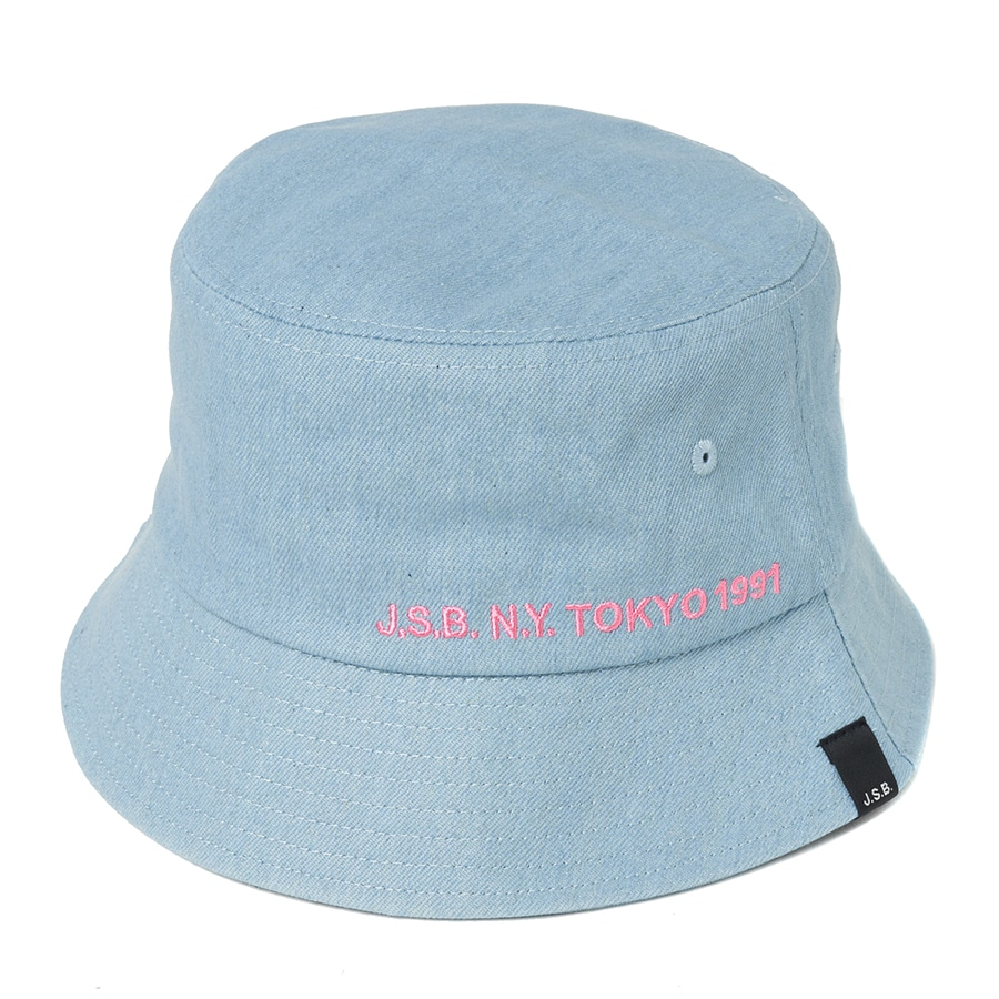 Simple Logo Bucket Hat 詳細画像 Blue 1