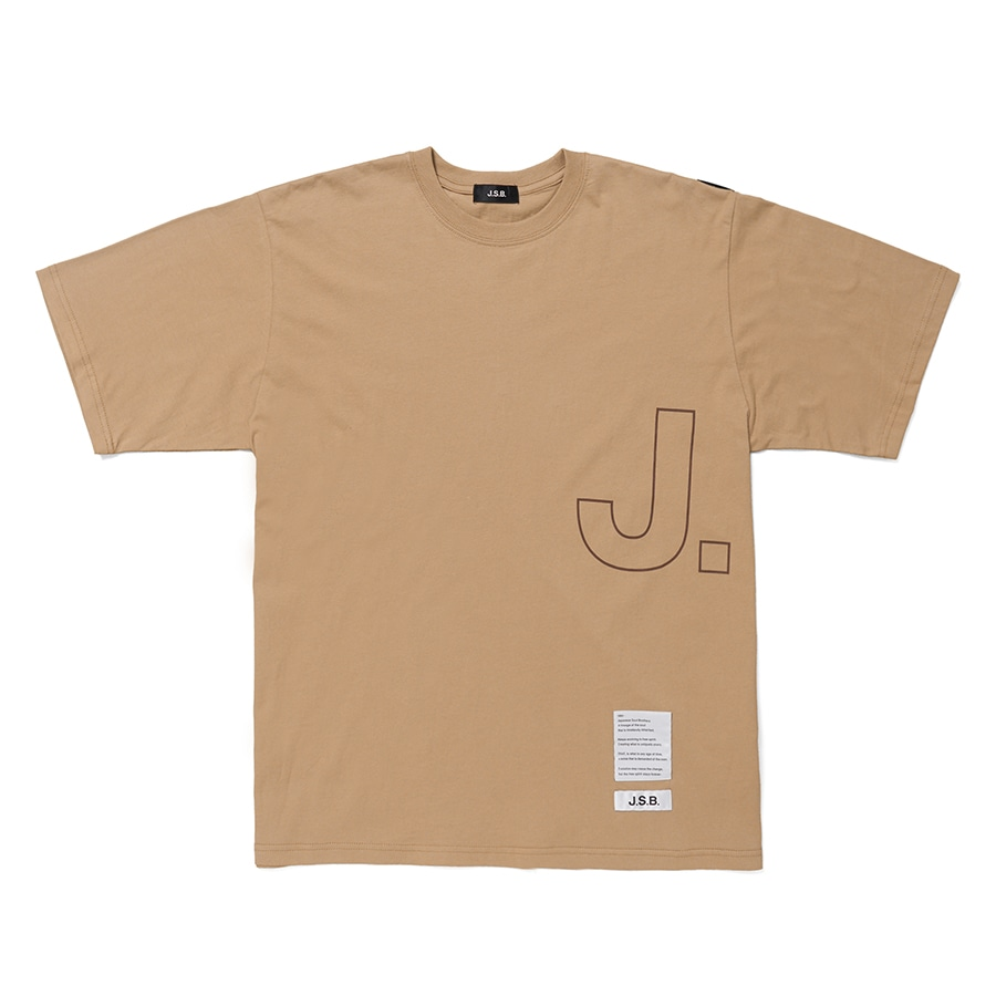 Over Logo S/S Tee 詳細画像 Brown 1