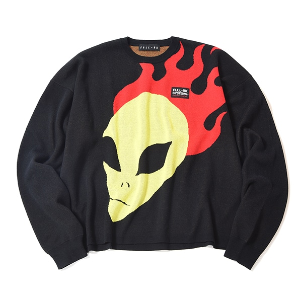 YOUTH OF PARIS × FULL-BK ALIEN KNIT