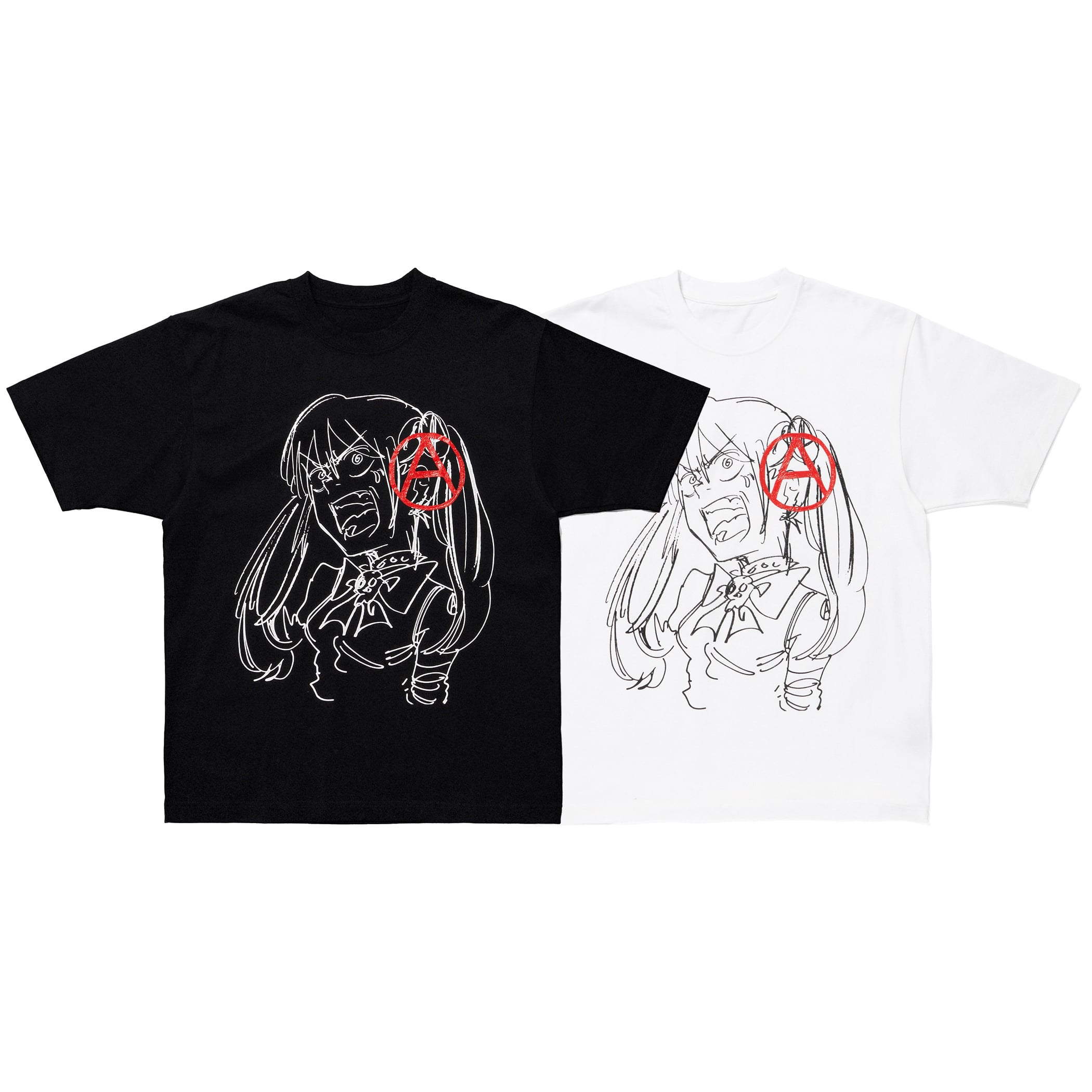 A paint Tee 詳細画像 White 6