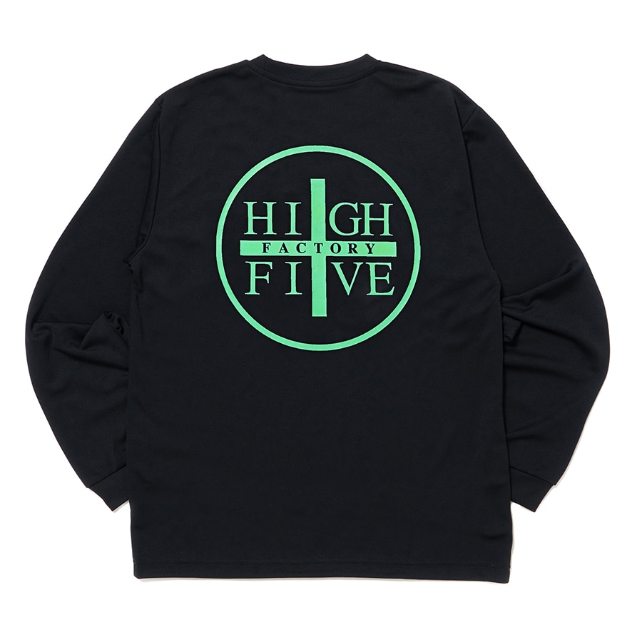 HIGH FIVE FACTORY LS TEE 詳細画像 Black×White 3