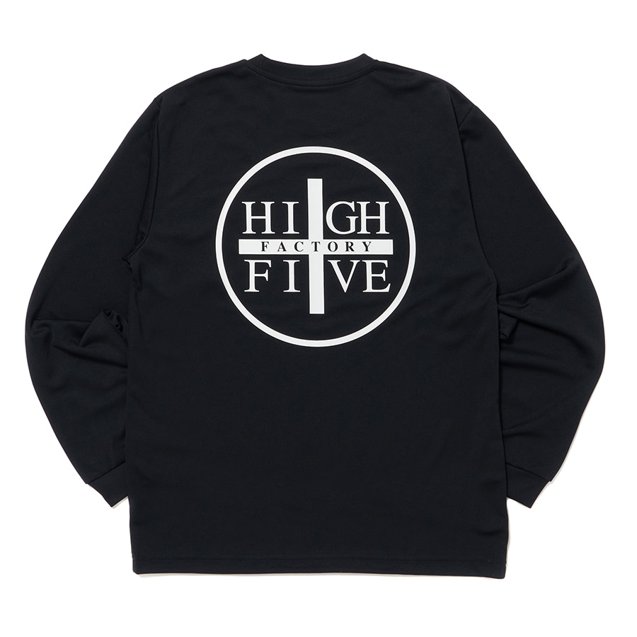 HIGH FIVE FACTORY LS TEE 詳細画像 Black×White 4