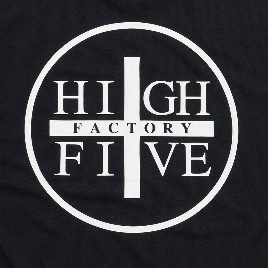 HIGH FIVE FACTORY LS TEE 詳細画像 Black×White 6