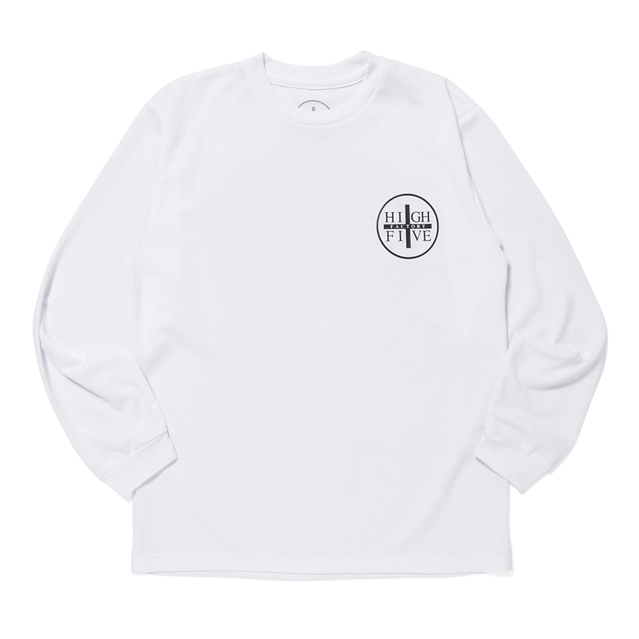 HIGH FIVE FACTORY LS TEE 詳細画像 White 1