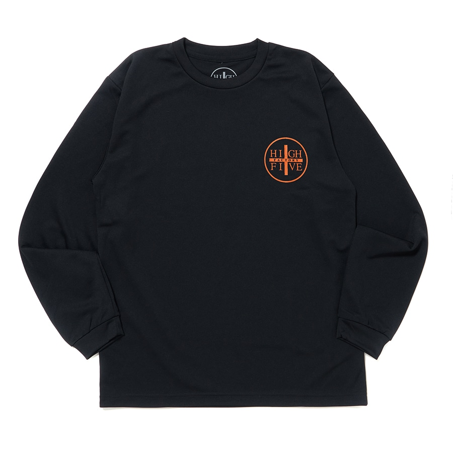 HIGH FIVE FACTORY LS TEE 詳細画像 Orange 1
