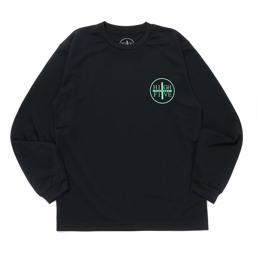 HIGH FIVE FACTORY LS TEE 詳細画像 Green 1