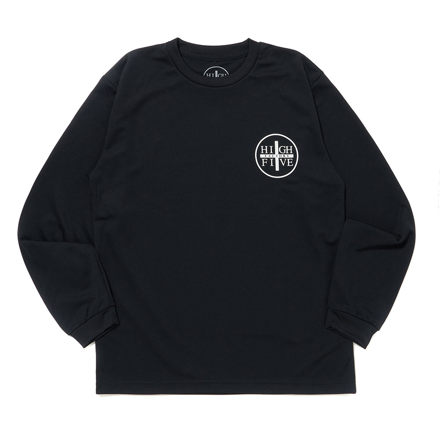HIGH FIVE FACTORY LS TEE 詳細画像 Black×White 1