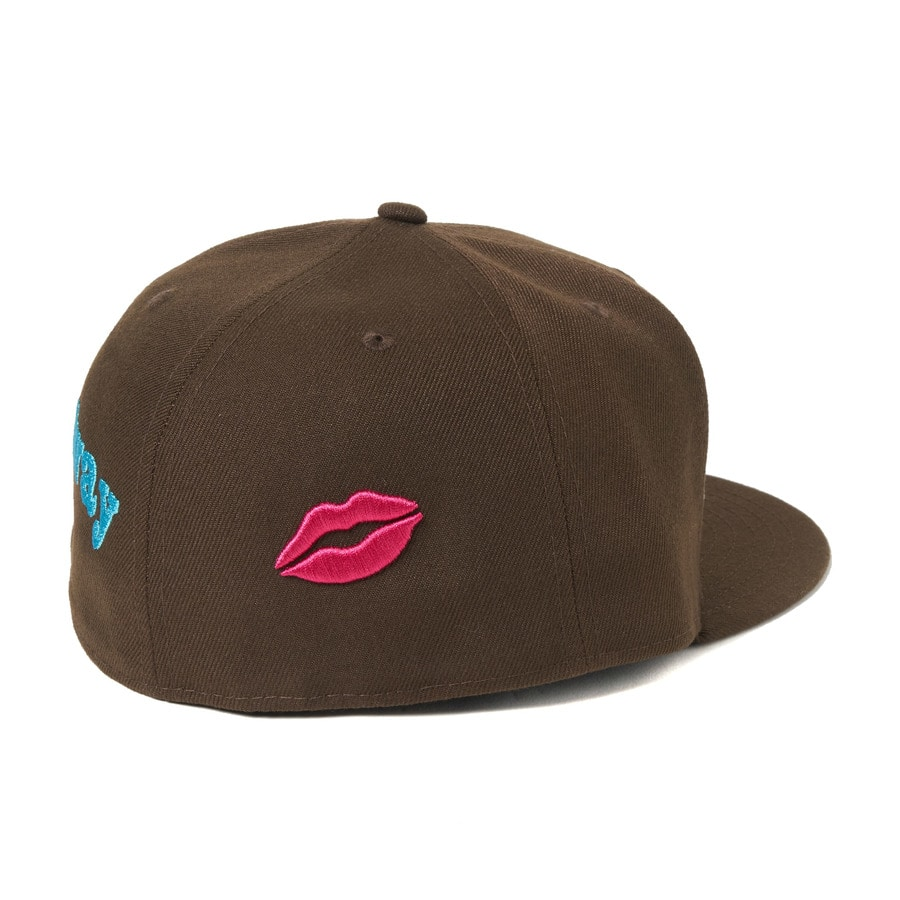 Pain pain go away× NEWERA 59FIFTY 詳細画像 Brown 1