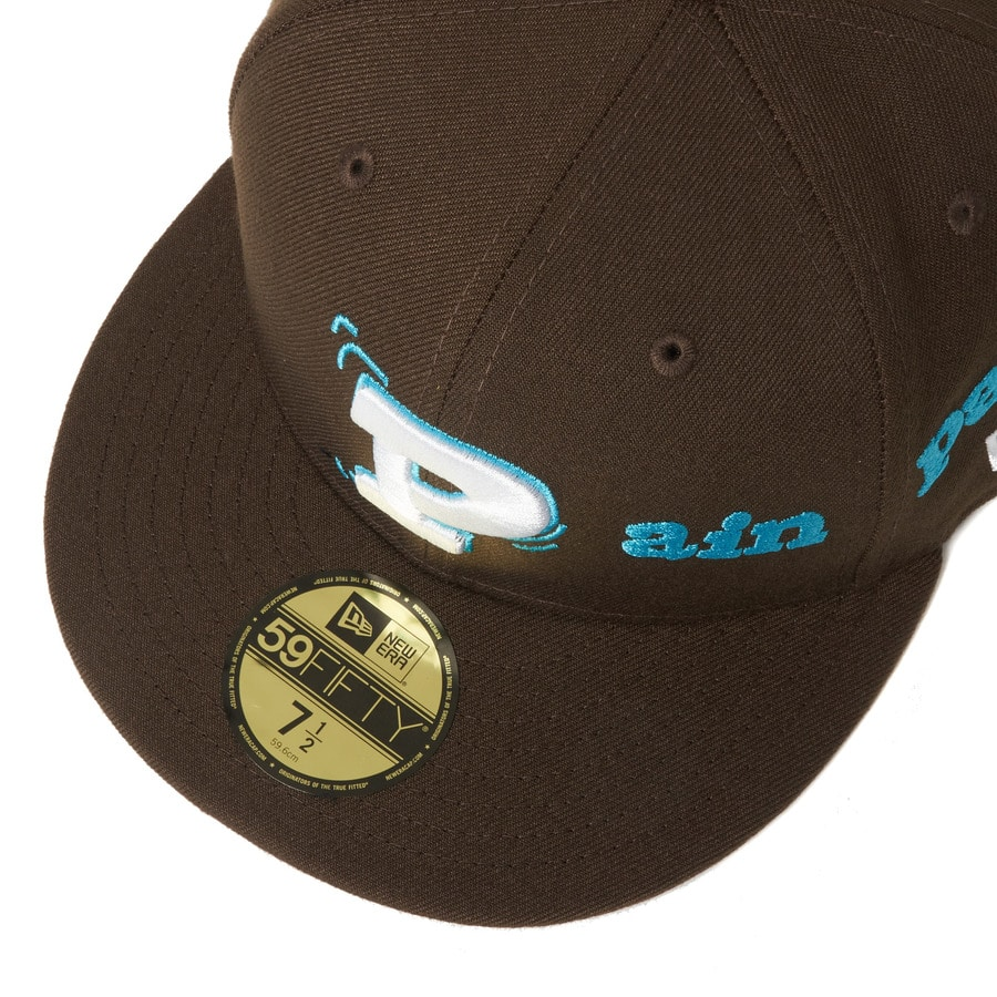 Pain pain go away× NEWERA 59FIFTY 詳細画像 Brown 4