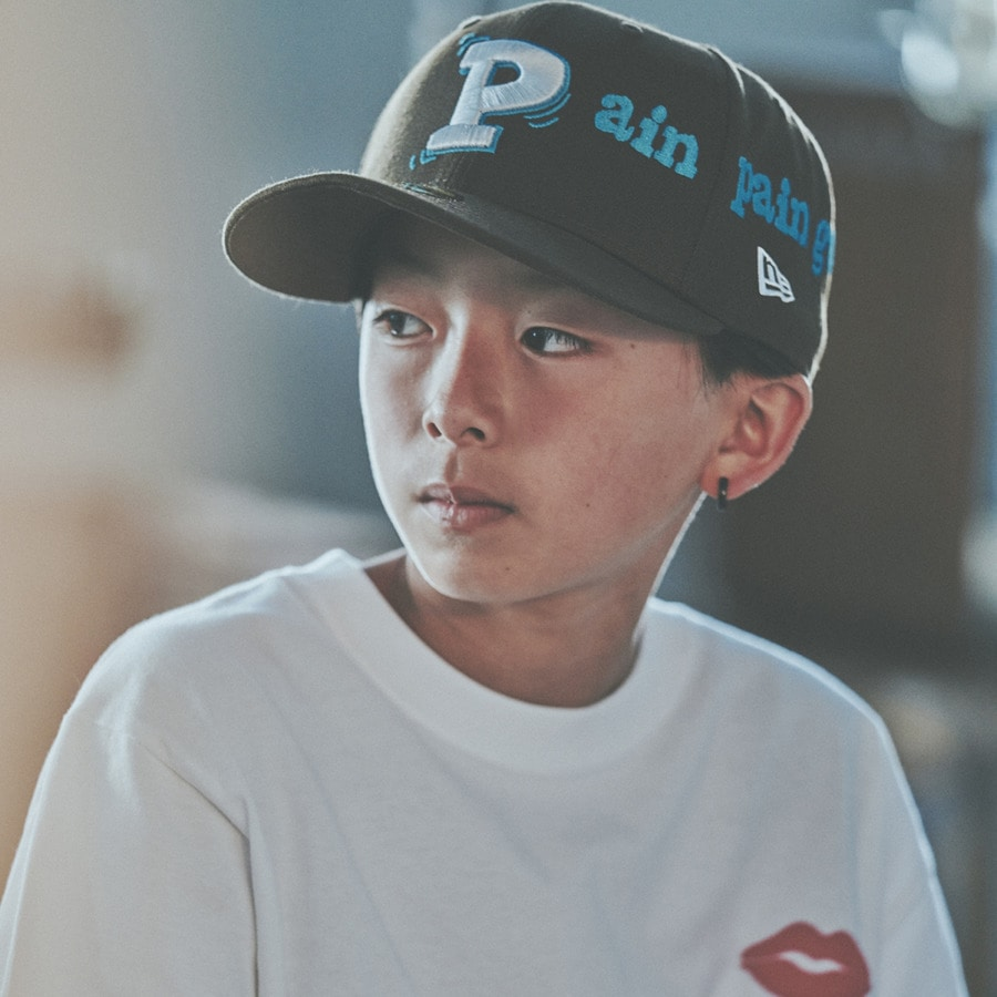 Pain pain go away× NEWERA 59FIFTY 詳細画像 Brown 8